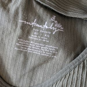Free People Tops - Olive Free People Ribbed Top